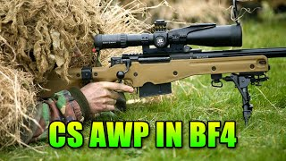 Loadout Is The Counter Strike AWP Good In BF4? | Battlefield 4 Bolt Action Gameplay