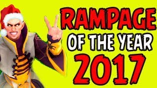 Most INCREDIBLE Rampage Compilation of the Year 2017   Dota 2