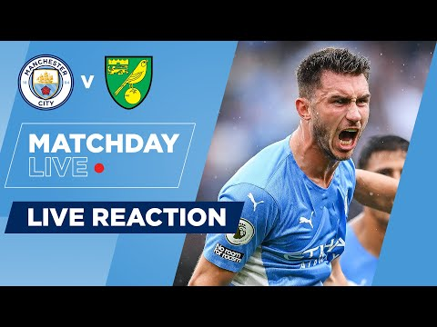 FULL-TIME REACTION MANCHESTER CITY 5-0 NORWICH |  LIVE MATCHDAY
