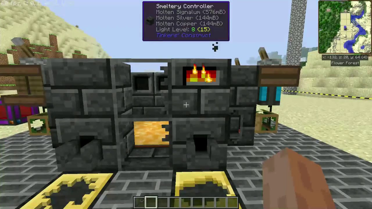 minecraft thermal smeltery