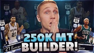250K MT SQUAD BUILDER! OLD KOBE STILL GOT IT! NBA 2K17 MyTeam