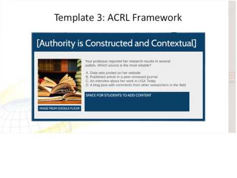ACRL DLS The Research as Inquiry Framework in Distance Educa