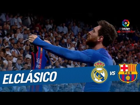 El Clasico - TOP Goals Lionel Messi 2006 - 2017 at the Santiago Bernabeu