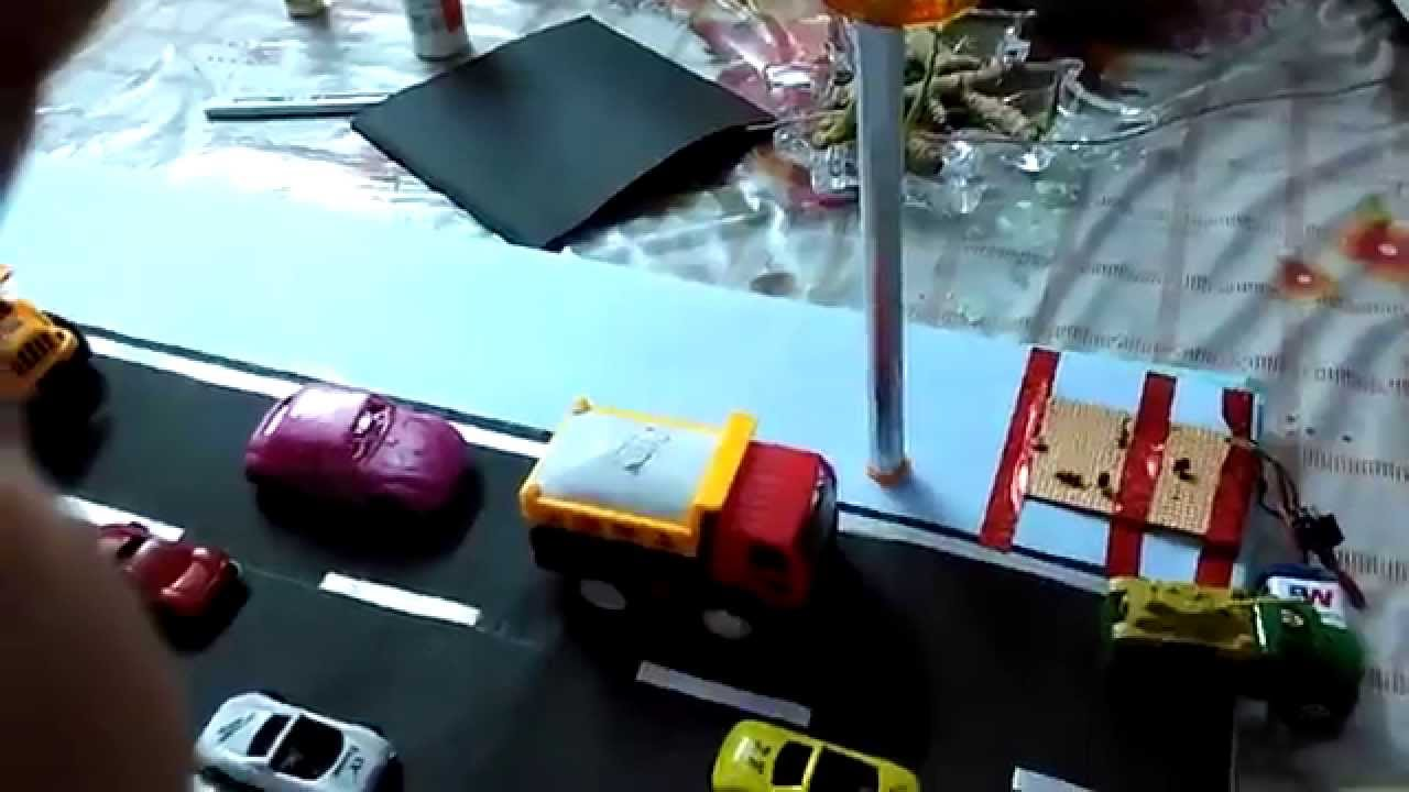 Science Project for Class 2,3,4,5; How to make Automatic Street ...
