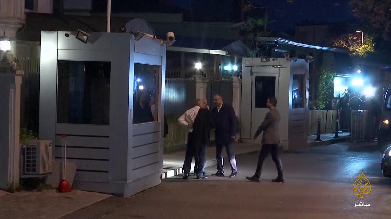 """هل يجد الأمن التركي ما يبحث عنه داخل مرآب """"بدروم"""" منزل القنصل السعودي؟"""