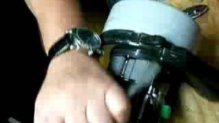Vacuum Motor Repair Video - Collapsed impeller housing