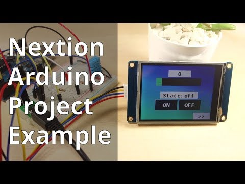 Nextion Display with Arduino - Getting Started | Random Nerd