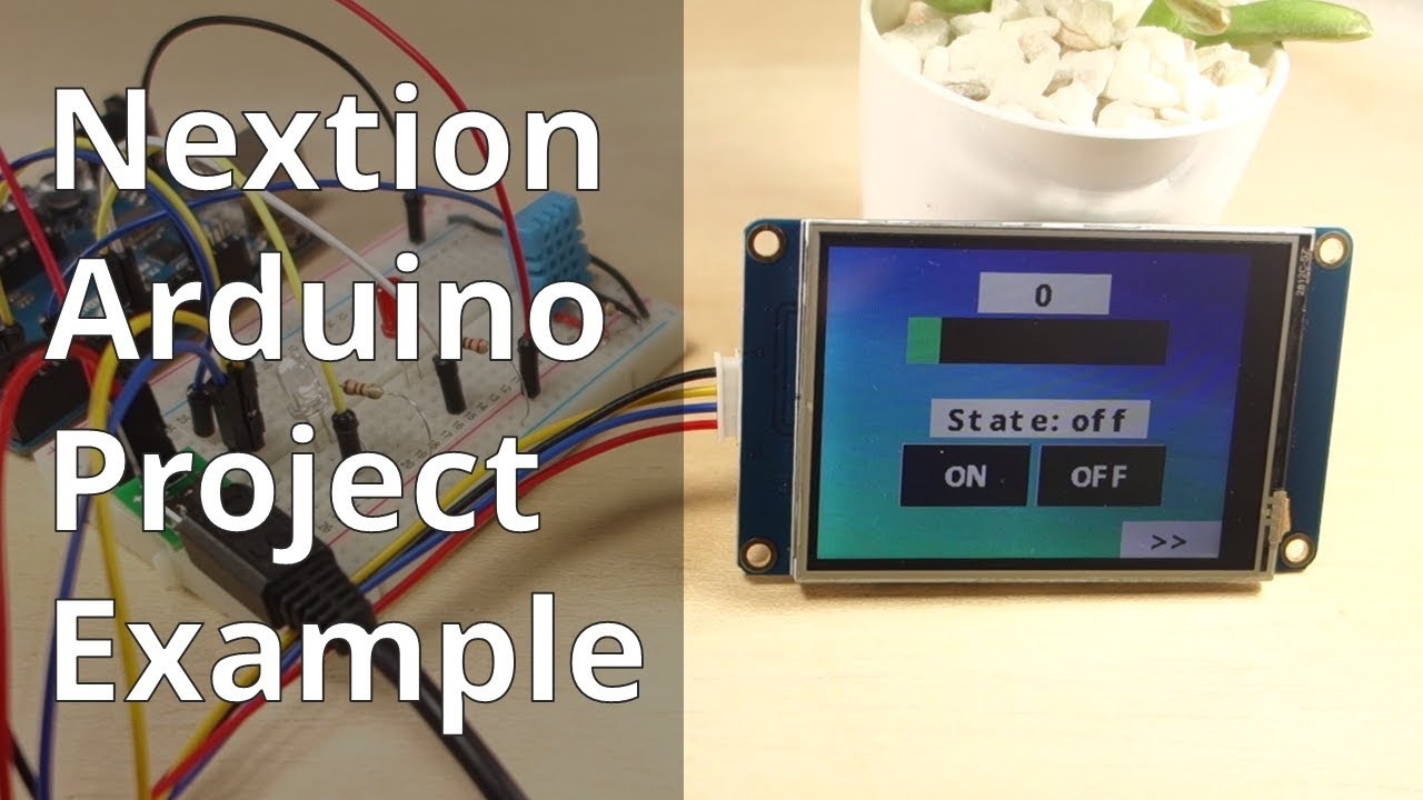Nextion Display with Arduino - Getting Started | Random Nerd Tutorials
