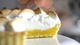 Lemon Meringue Pie Recipe 레몬 머랭 파이 만들기 - 한글자막