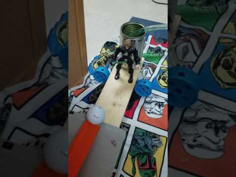 New Mark Middle School Rube Goldberg Machine Run 2