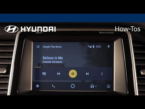 How to play music using Android Auto™| Hyundai