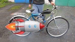 Велосипед с мотором (дэшка, дырчик) 18+ (нецензурная лексика)(Велосипед с маломощным, односкоростным мотором, который был популярен в СССР расход 1.5 литра/100км (в кадре..., 2014-06-01T17:29:35.000Z)