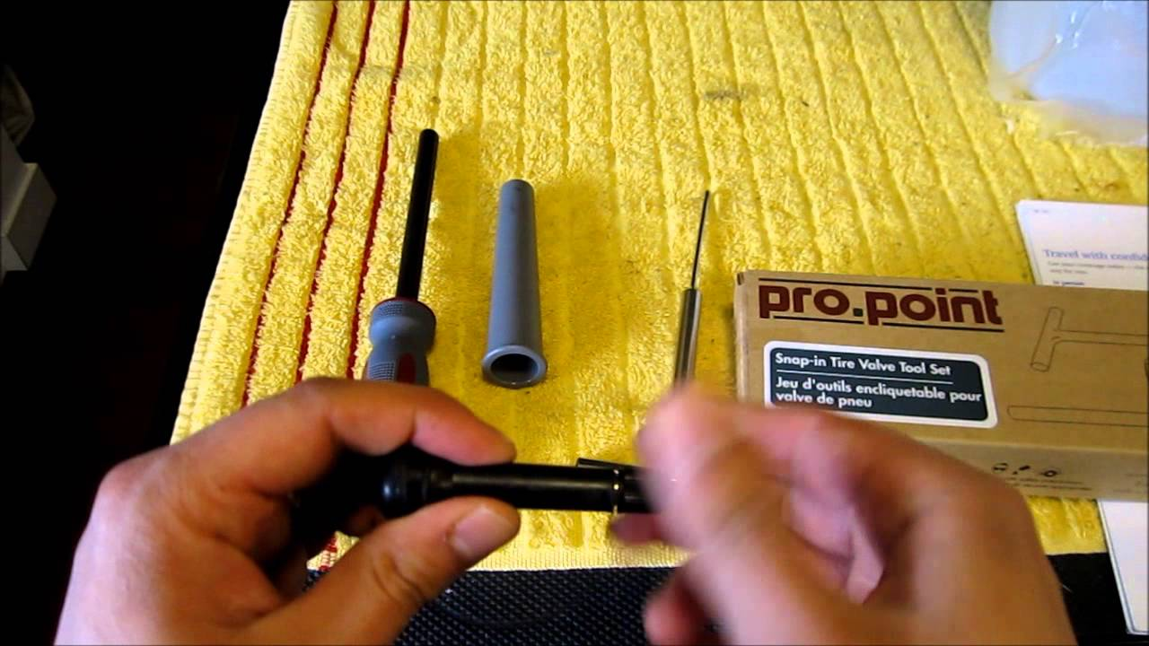 How To Replace A Tire Valve Without Taking Off The Using Tool These Replacement Parts Are For Snap Kits Kit Too Youtube