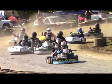 Senior Heavy Flathead Feature | Eriez Speedway | 9-23-17
