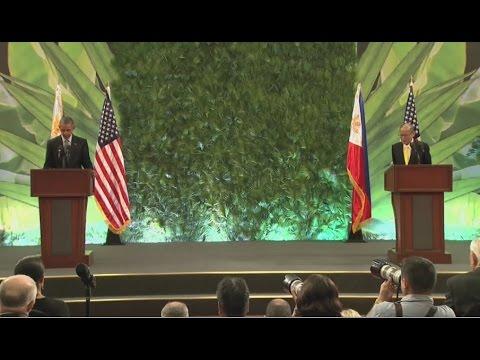 U.S. Pres. Barack Obama and Phil President Benigno Aquino III Joint Press Conference