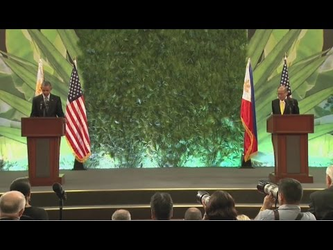 U.S. Pres. Barack Obama and Phil President Benigno Aquino III Joint Press Conference