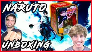 Naruto Sasuke Ultimate Ninja Way Tin Unboxing | Rare Hunters ft. SimplyUnlucky