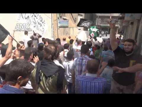 حلب | بستان القصر • جمعة ميثاق الشرف الثوري يمثلنا 23-5-2014