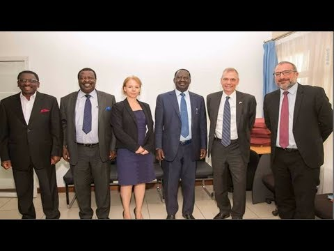 TALKING TOUGH: When Raila Odinga and Western Envoys parted way