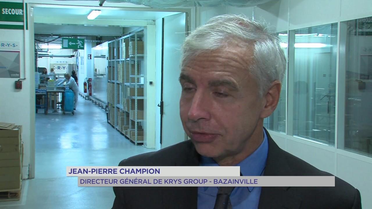 """Bazainville : la société """"Krys"""" étend ses locaux"""