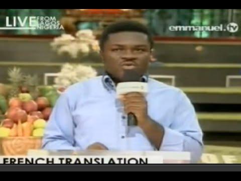 """SCOAN 09/11/14: Sunday Live Service Resume """"French Translation"""". Emmanuel TV"""