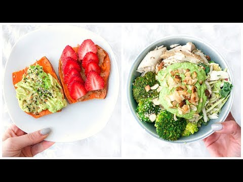 What I Eat In A Day! Easy And Healthy Recipes On A Budget!
