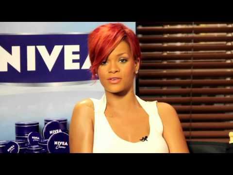 Rihanna Talking with Nivea