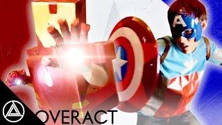 ไออ้อนแมน vs กัปตันกำลังพัฒนา [ OVERACT ]