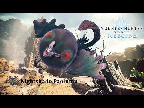 MONSTER HUNTER WORLD: ICEBORNE - Nightshade Paolumu Hammer Solo #4 |