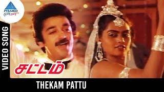 Sattam Movie Songs | Thekam Pattu Video Song | Kamal Haasan | Silk Smitha | Gangai Amaran