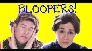 SAM & LAYBIA TIE-DYE BLOOPERS!