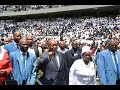 President Jacob Zuma addresses TACC International thanksgiving church service