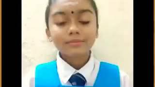 Ellu Vaya Pookalaye - School Girl Sings