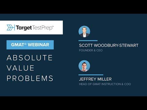 GMAT® Absolute Value Problems - Webinar