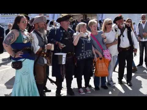 Pirates Of St Piran At Newquay Fish Festival 2016