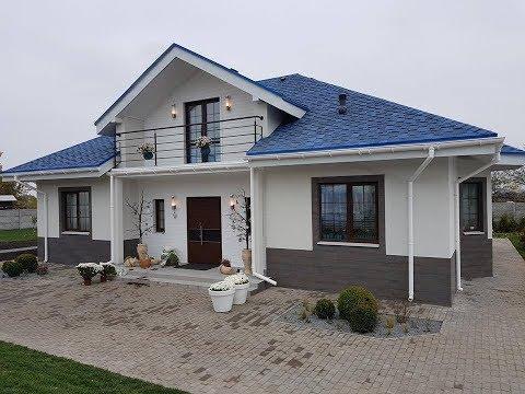Реализация проекта мансардного дома X1b