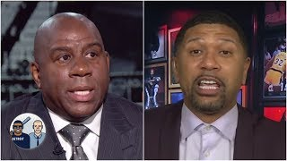 It's not an accident Magic Johnson was on First Take today - Jalen Rose | Jalen & Jacoby