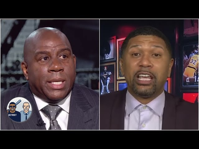 Its not an accident Magic Johnson was on First Take today - Jalen Rose | Jalen & Jacoby