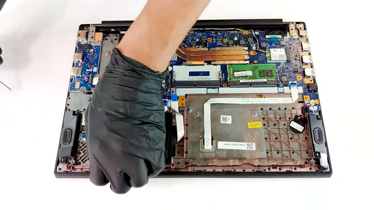 Lenovo ThinkPad E590 - disassembly and upgrade options