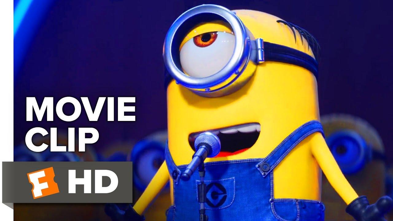 Despicable Me 3 Movie Clip Minions Take The Stage 2017