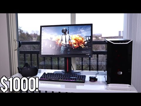 COMPLETE $1000 PC Gaming Setup!