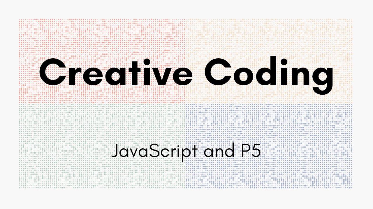 Creative Coding Time Lapse | Dots | JavaScript, p5.js