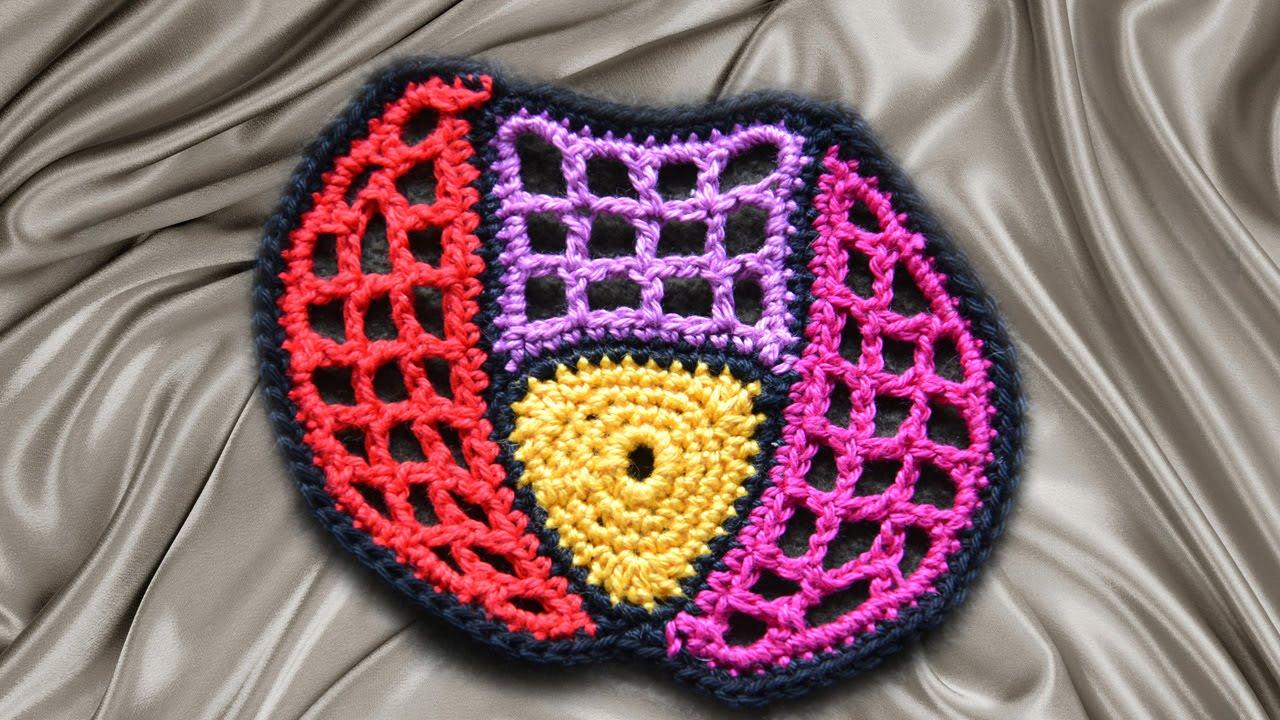 Мотивы,схемы crochet modnoe vyazanie.
