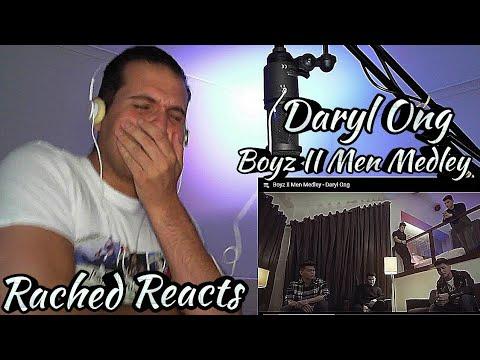 Coach Reaction - Daryl Ong - Boyz II Men Medley