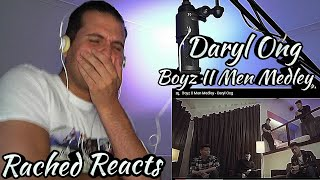 Coach Reaction - Daryl Ong - Boyz II Men Medley