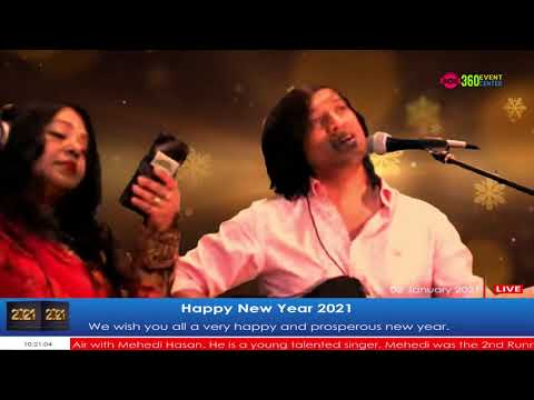 Live Event - Happy New Year 2021 Celebration