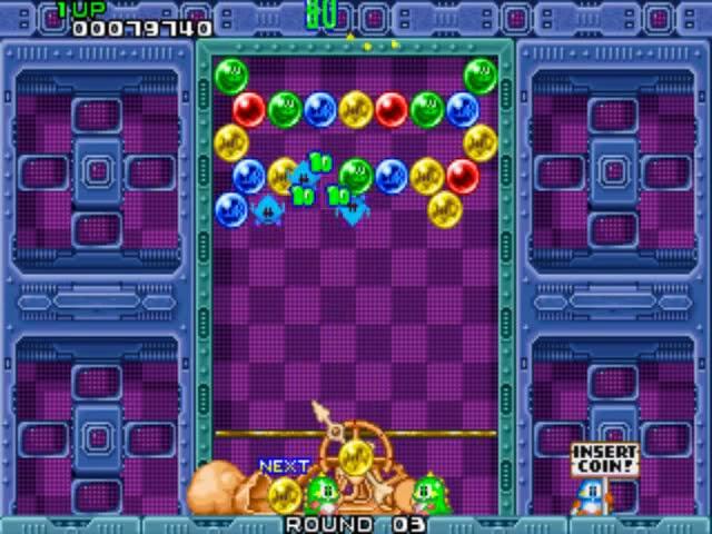 Jouez à Puzzle Bobble sur Borne d'Arcade avec nos Bartops et Consoles Retrogaming