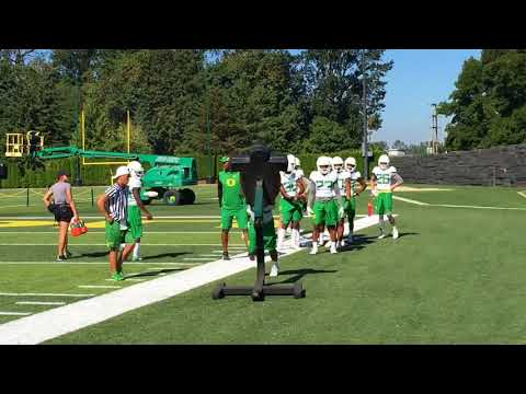 Sights and sounds: Oregon Ducks Aug. 16 football practice