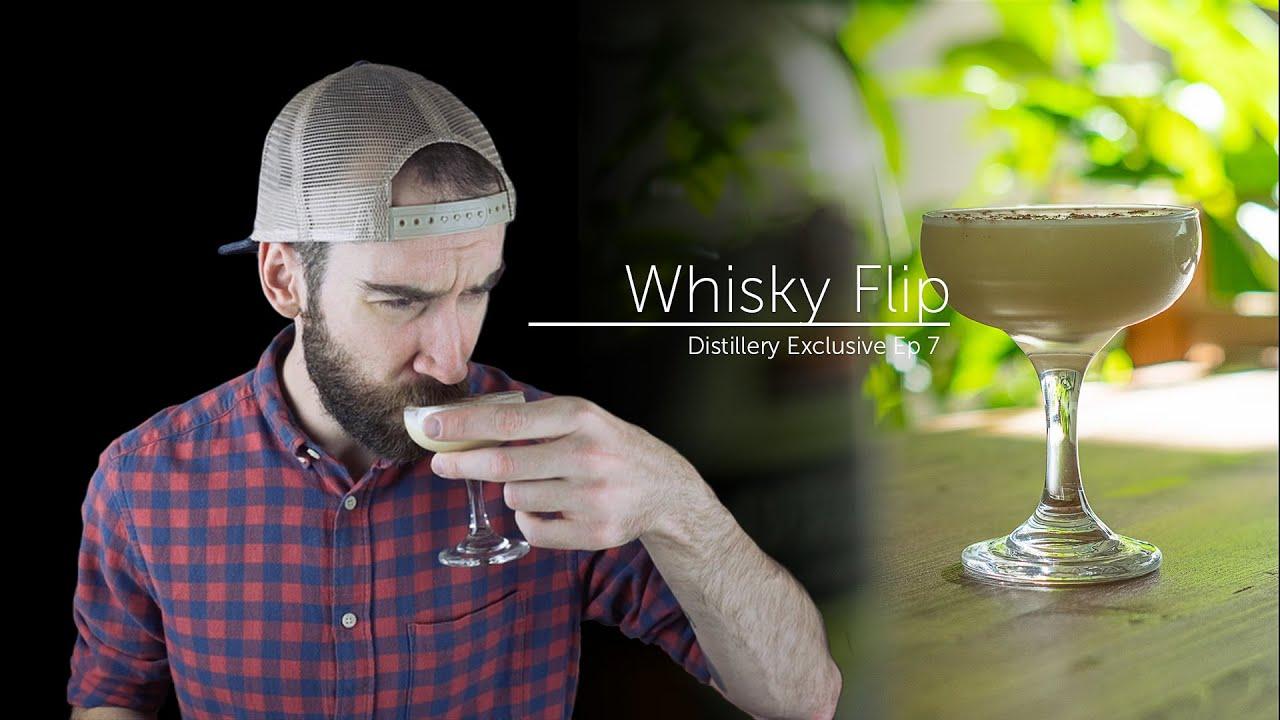 Okanagan Spirits Whisky Flip Cocktail - Distillery Exclusive Ep 07