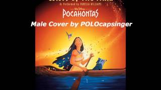 """Gambar cover Male Cover of """"Colors Of The Wind"""" (Disney's Pocahontas)"""